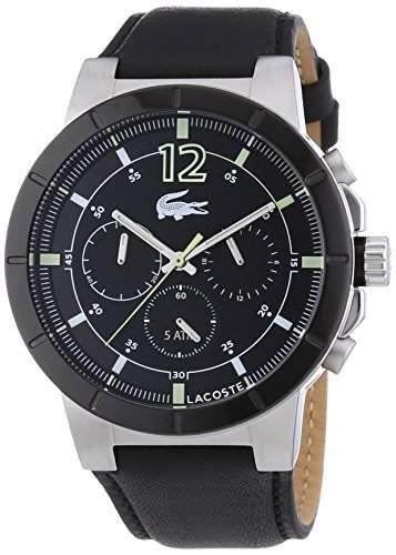 Lacoste Herren-Armbanduhr XL DARWIN Analog Quarz Leder 2010743