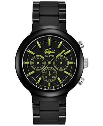 Lacoste Herren-Armbanduhr XL Chronograph Quarz Edelstahl 2010756