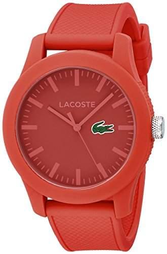Lacoste Herren-Armbanduhr Analog Quarz Silikon 2010764