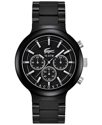 Lacoste Herren-Armbanduhr XL Chronograph Quarz Edelstahl 2010770