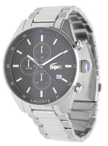 LACOSTE Uhr Herrenuhr Armbanduhr 2010788 EdelstahlSchwarz