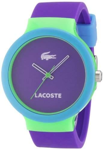 Lacoste Unisex-Armbanduhr Analog Quarz Silikon 2020005