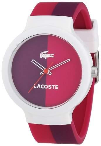 Lacoste Unisex-Armbanduhr Analog Quarz Silikon 2020036
