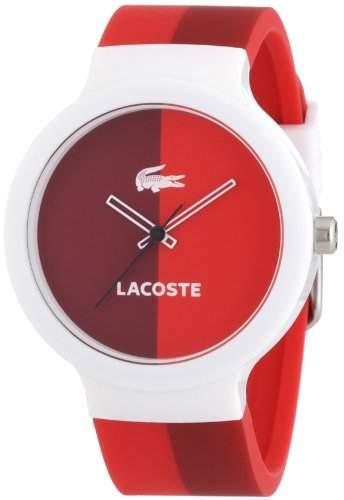 Lacoste Unisex-Armbanduhr Analog Quarz Silikon 2020037