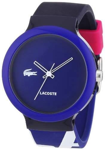Lacoste Unisex-Armbanduhr Analog Quarz Silikon 2020043