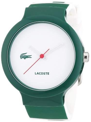 Lacoste Unisex-Armbanduhr Analog Quarz Silikon 2020045