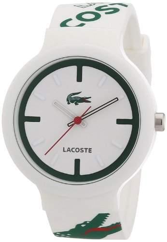Lacoste Unisex-Armbanduhr Analog Quarz Silikon 2020060