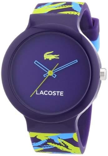 Lacoste Unisex-Armbanduhr Analog Quarz Silikon 2020061