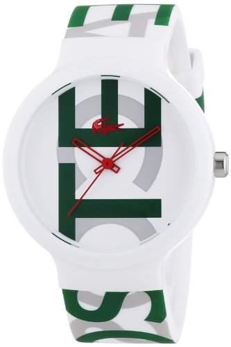 Lacoste Unisex-Armbanduhr Analog Quarz Silikon 2020062