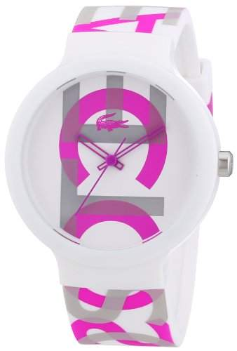 Lacoste Unisex-Armbanduhr Analog Quarz Silikon 2020064