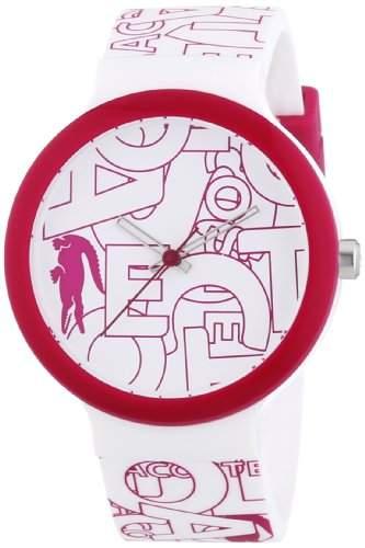 Lacoste Damen-Armbanduhr Analog Quarz Silikon 2020065