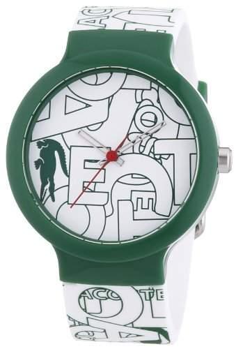 Lacoste Damen-Armbanduhr Analog Quarz Silikon 2020066