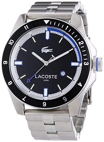 Lacoste Herren-Armbanduhr XL DURBAN Analog Quarz Edelstahl 2010734