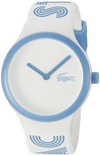 Lacoste Unisex 2020105 Goa Analog Display Japanisches Quarz Weiss Armbanduhr