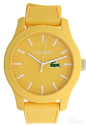 Lacoste Armbanduhr Silikon Gelb 2010774