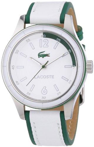 Lacoste Damen Armbanduhr Sydney Analog Quarz Leder 2000829