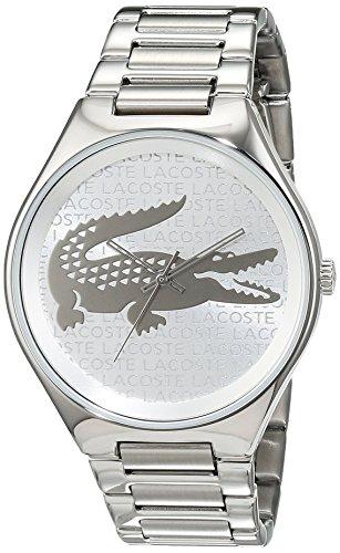 Lacoste Damen Armbanduhr Valencia Analog Quarz Edelstahl 2000931