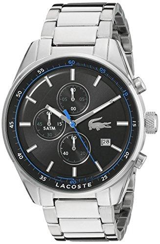 Lacoste Herren 2010788 Dublin Analog Display Japanisches Quartz Silber Uhr