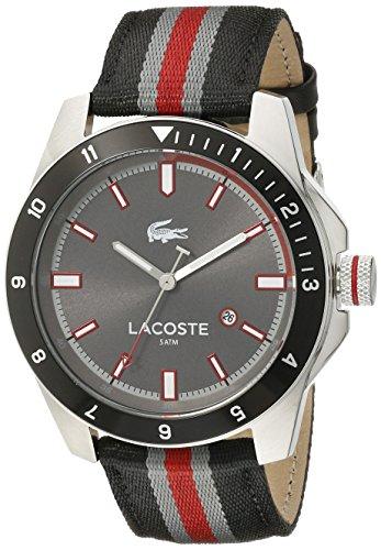 Lacoste Herren 2010810 Durban Analog Display Japanisches Quartz Black Watch