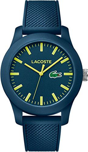 Lacoste ACOSTE POLOSHIRT IN A WATCH KOLLEKTION Analog Quarz Silikon 2010792