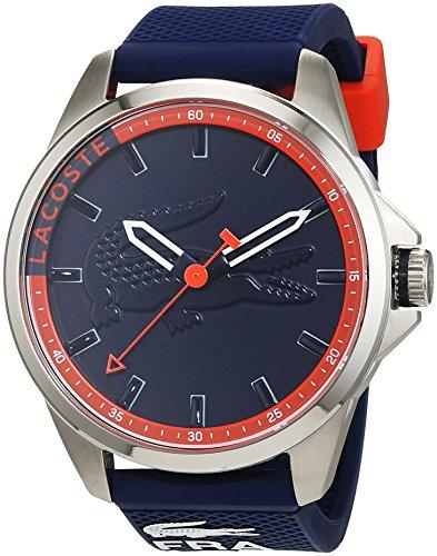 Lacoste Herren Armbanduhr Capbreton Analog Quarz Silikon 2010842