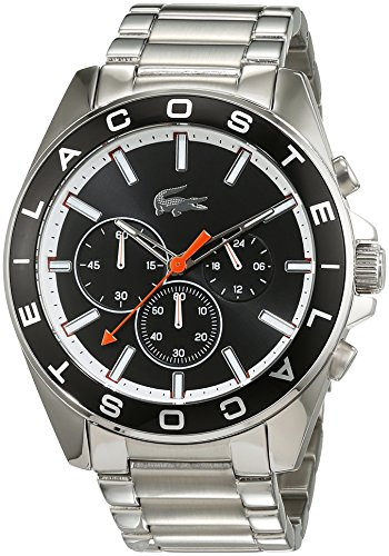 Lacoste Westport Chrono Analog Quarz Edelstahl 2010855