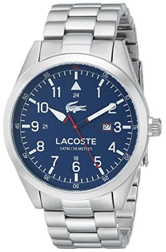 LACOSTE Netz Me Up Quarz Batterie JAPAN Reloj 2010783