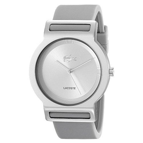 Lacoste Tokyo Silver Dial Grey Rubber Strap Ladies Watch 2020047