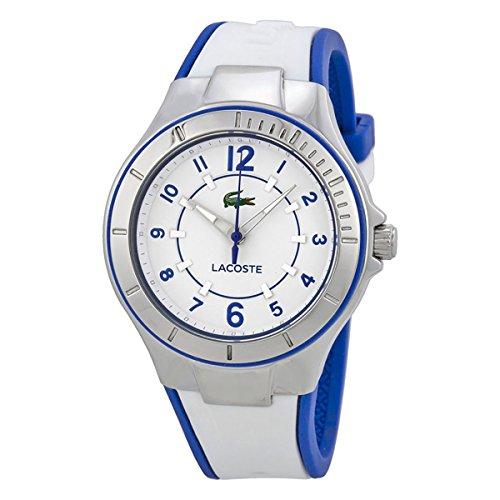 Lacoste Sydney Stainless Steel White Blue Womens Fashion Strap Watch Quartz 2000799