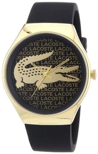 Lacoste Damen-Armbanduhr Analog Quarz Silikon 2000808