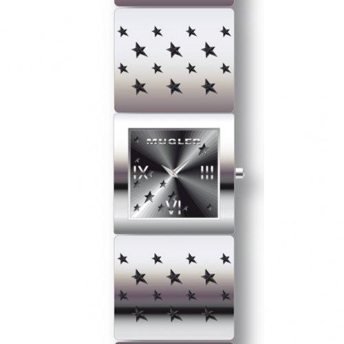 Thierry Muggler Analog Quarz Leder 4705803