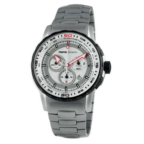 Momo Design Pilot Pro Crono Quartz Uhr Chronograph 46mm MD2164SS 20