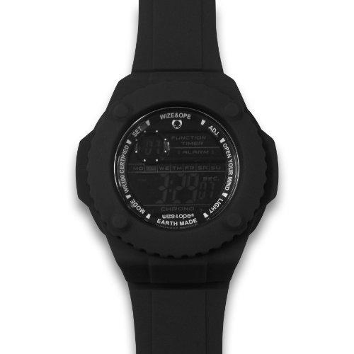 Wize Ope Unisex Armbanduhr Gummy Digital Quarz Silikon GUM 2