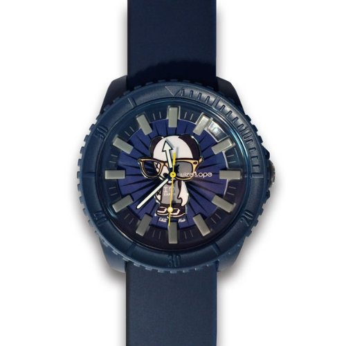 Wize Ope cr 3 Crunch Armbanduhr Armbanduhr KL129 Analog Silikon blau