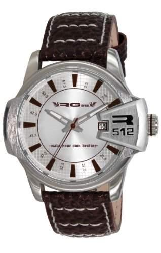 RG512-G50711-205-Zeigt Herren-Armbanduhr 1076312Analog Leder Braun