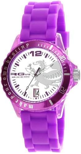 RG512 g 50529-015-Kinder-Armbanduhr Regate Quarz analog Silikon Violett