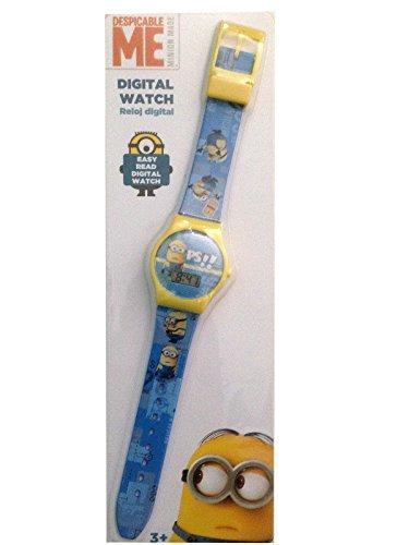 Despicable Me Digitale Armbanduhr Minion blau gelb