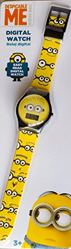 Teens Erwachsene Despicable Me Digitale Armbanduhr Minion