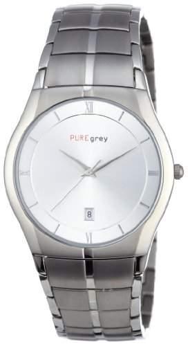 Pure grey Titan Herrenuhr 15529091