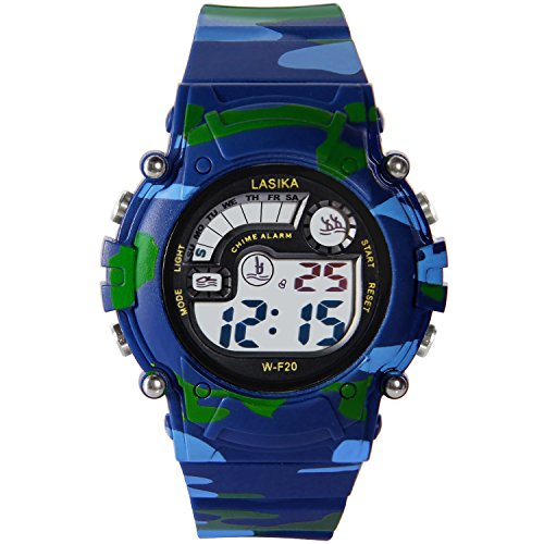 hiwatch TM Wasserdicht 30 M Outdoor mit Alarm Woodland Camo Digital Handgelenk Uhren
