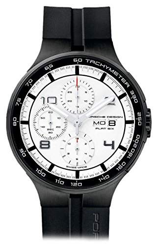 Porsche Design Flat Six Automatic Chronograph PVD Coated Steel Mens Watch Calendar 636043641254