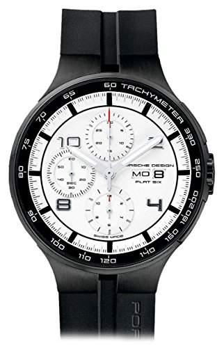 Porsche Design Flat Six Automatic Chronograph PVD Coated Steel Mens Watch Calendar 636043641254