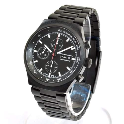 Limited Edition Porsche Design Heritage Chronograph Black Steel Mens Watch Calendar 651043410272