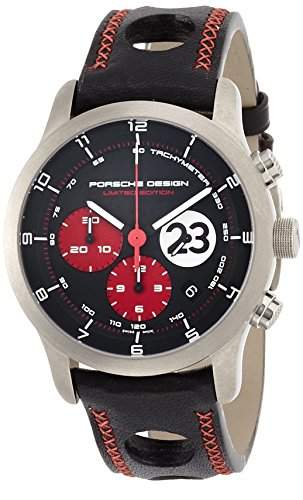 Limited Edition Porsche Design Dashboard Le Mans 1970 Titanium Mens Watch 661211481234