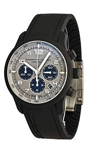 Porsche Design Dashboard Chronograph Automatic Black Titanium Mens Watch Calendar 6612175411903