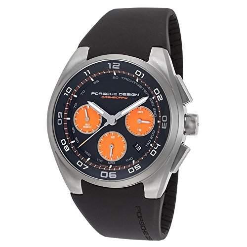 Porsche Design Dashboard Chronograph Automatic Titanium Mens Watch Calendar 662011481238