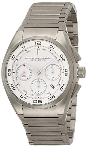 Porsche Design Dashboard Chronograph Automatic Titanium Mens Strap Watch Calendar 662011660268