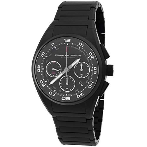 Porsche Design Dashboard Chronograph Automatic Black PVD Titanium Mens Watch Calendar 662013460269