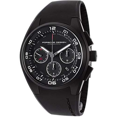 Porsche Design Dashboard Chronograph Automatic Black PVD Titanium Mens Watch Calendar 662013461238