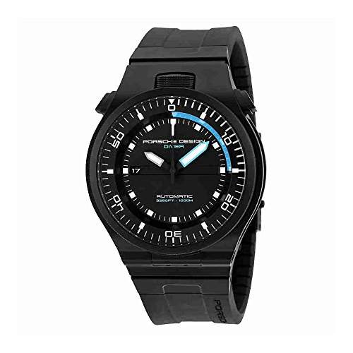 Porsche Design Performance Diver Automatic Black PVD Titanium Mens Watch Calendar 678045431218
